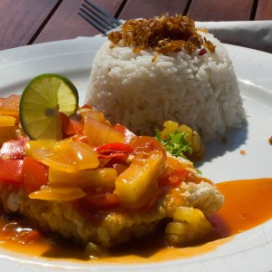 Sweet Sour Fried Fish